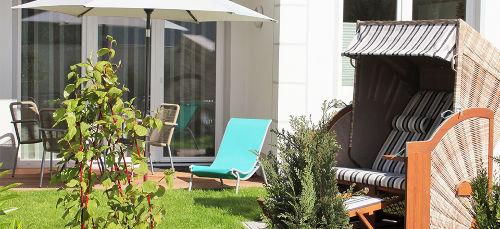 Sonnenterrasse/Garten - S-/W-Ausrichtung