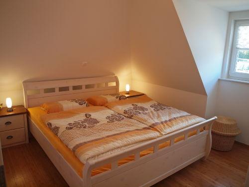 kleiner Schlafbereich im Obergeschoss