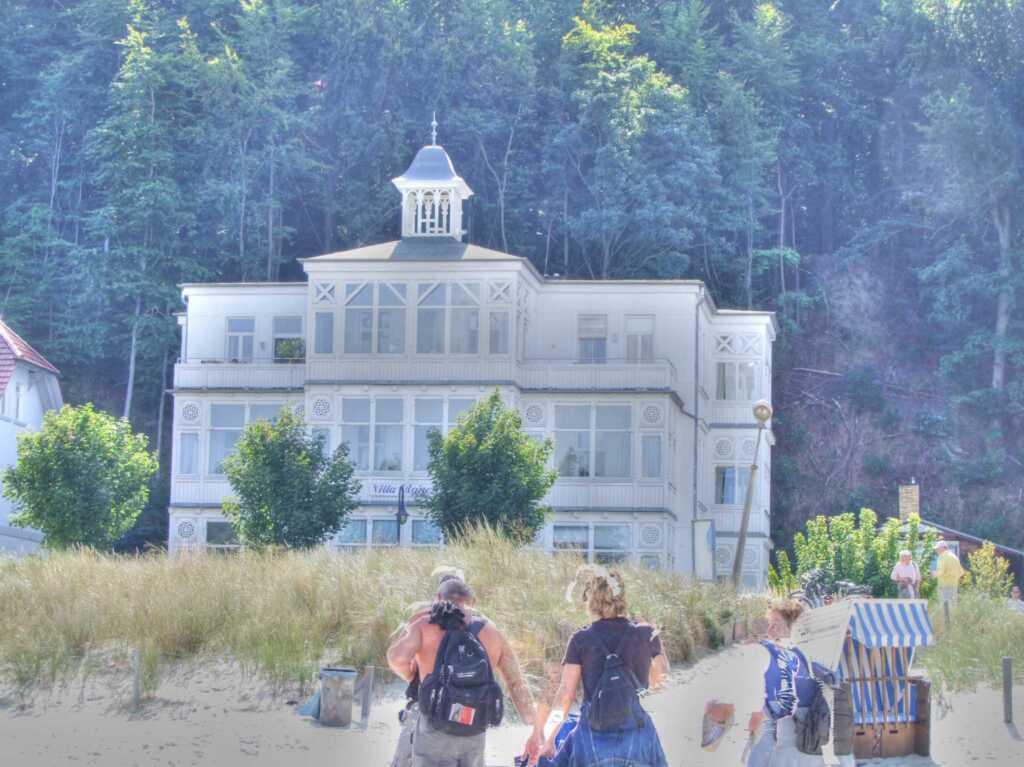 Binz 04 - Villa Agnes nur 20m zum Strand, Whg. 07