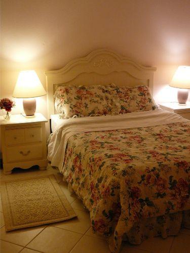 Master Schlafzimmer mit Bad en suite