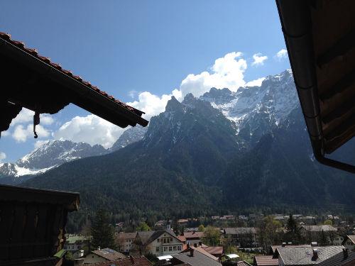 Bergblick aufs Karwendel.