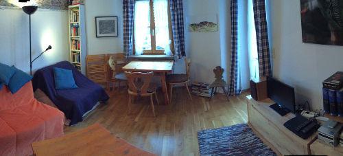 Panorama-Foto Wohnzimmer.