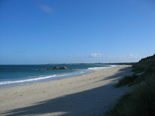 Strand Keremma, ca 50 Meter vom Haus