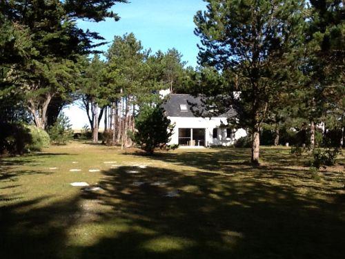 Haus im schönen Park