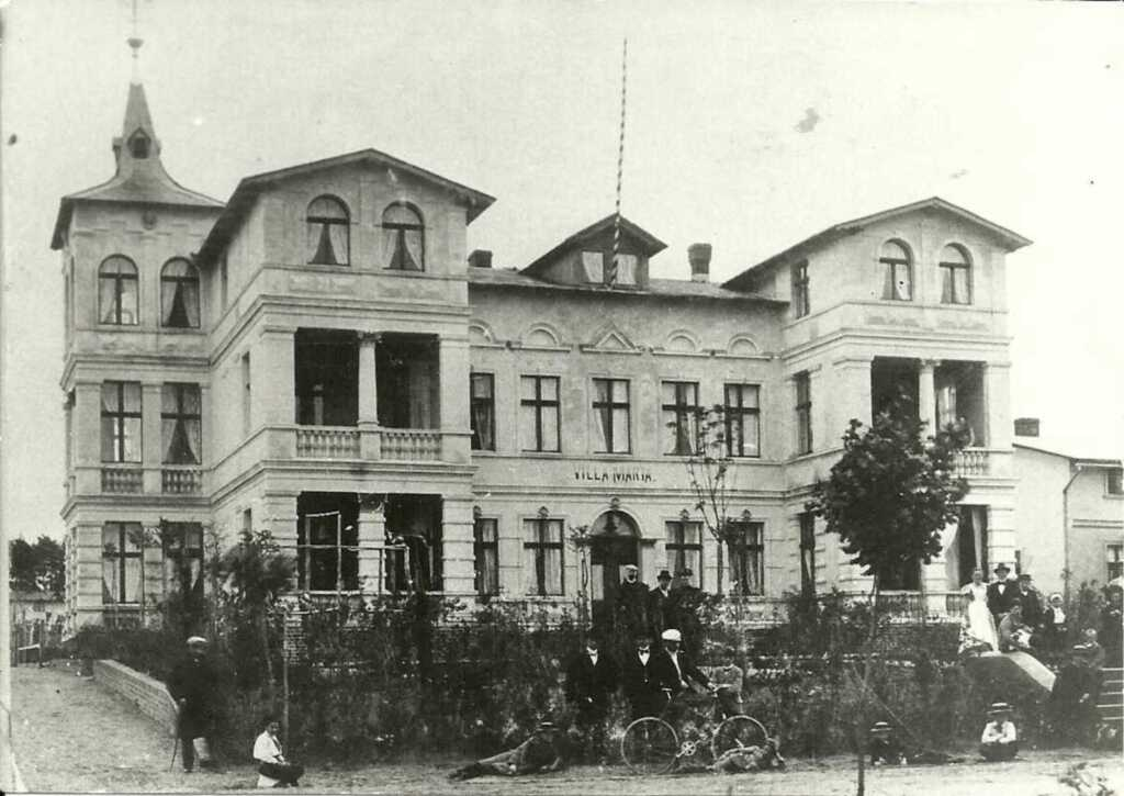 Usedomtourist Koserow 'Villa Maria' Fewo 04, Fewo