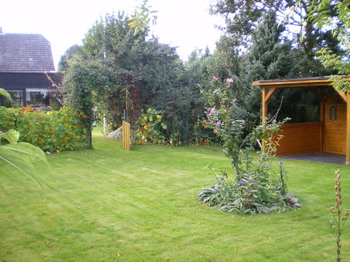 Gartenbereich für die Gäste