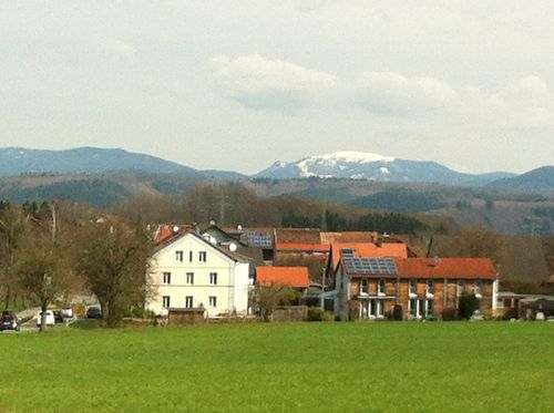 Blick auf den Schwarzwald - Belchen