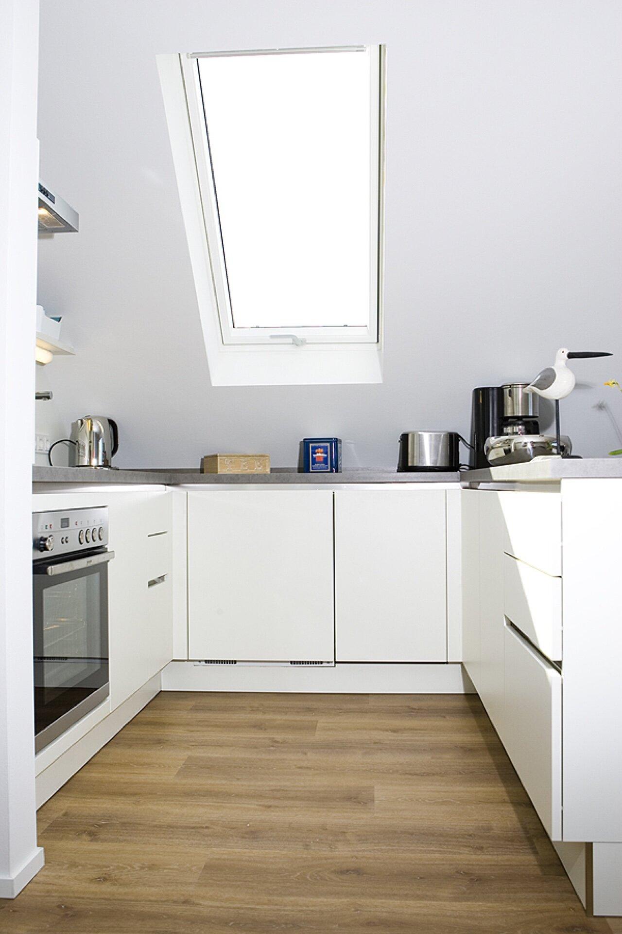 Küchenbereich und Essplatz - ARNGAST -