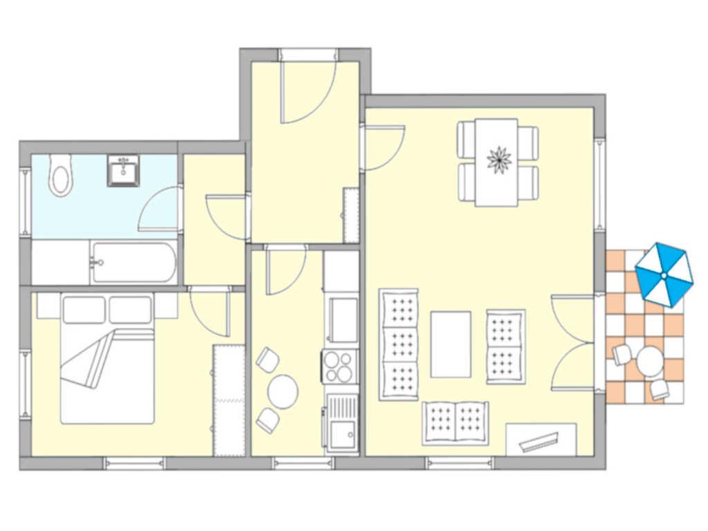 Residenz Unter den Linden 23 ruhig und zentral, Un