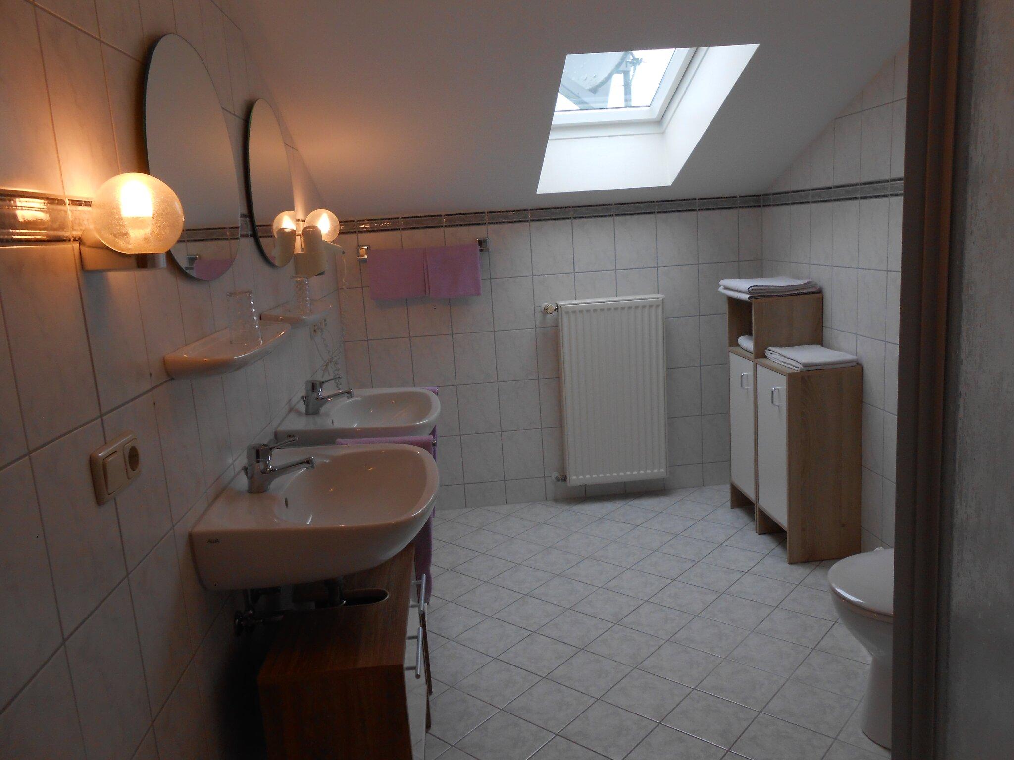 Ferienwohnung Sonnenblick , Dusche/WC