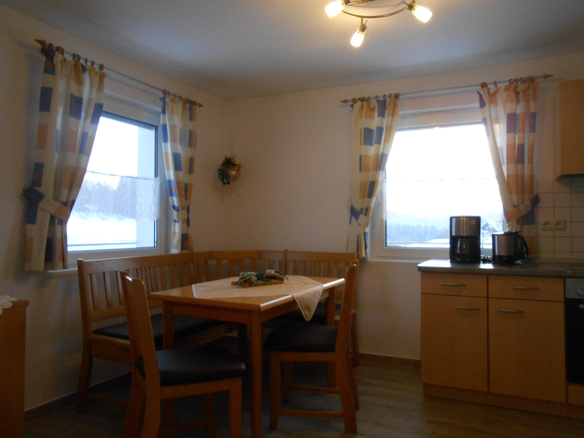 Ferienhaus - Küche mit Essecke