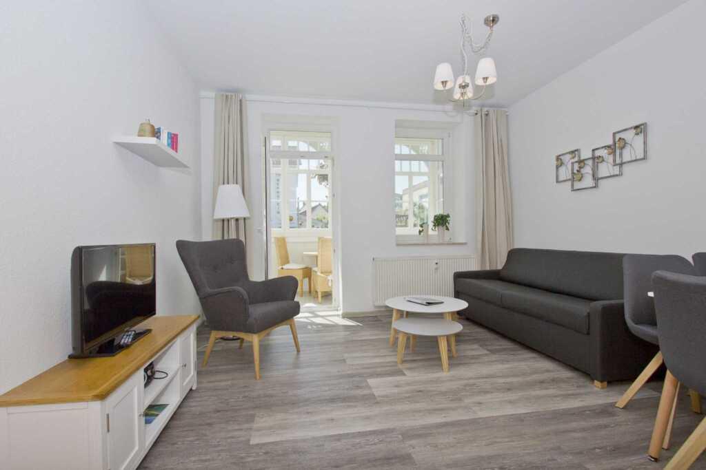Villa Möwe, A 01: 50 m², 2-Raum, 4 Pers., Veranda