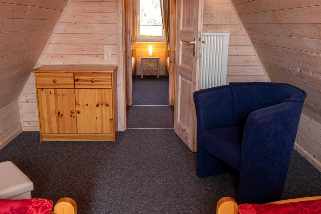 Finnhütte 800 Meter zum Sandstrand, Ferienhaus