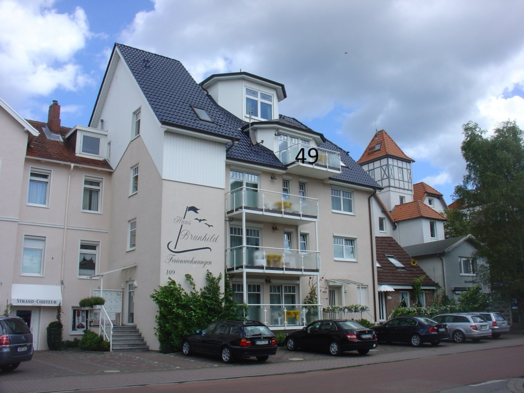Ostseehaus Dreesen Haus Brunhild Strandstra�e 109,
