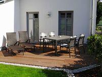 NEU: Landhaus Boddenhus mit Kamin, 2 Bäder, 2 SZ - am Wasser, Komfort Appartement - Jasmund in Glowe OT Polchow - kleines Detailbild