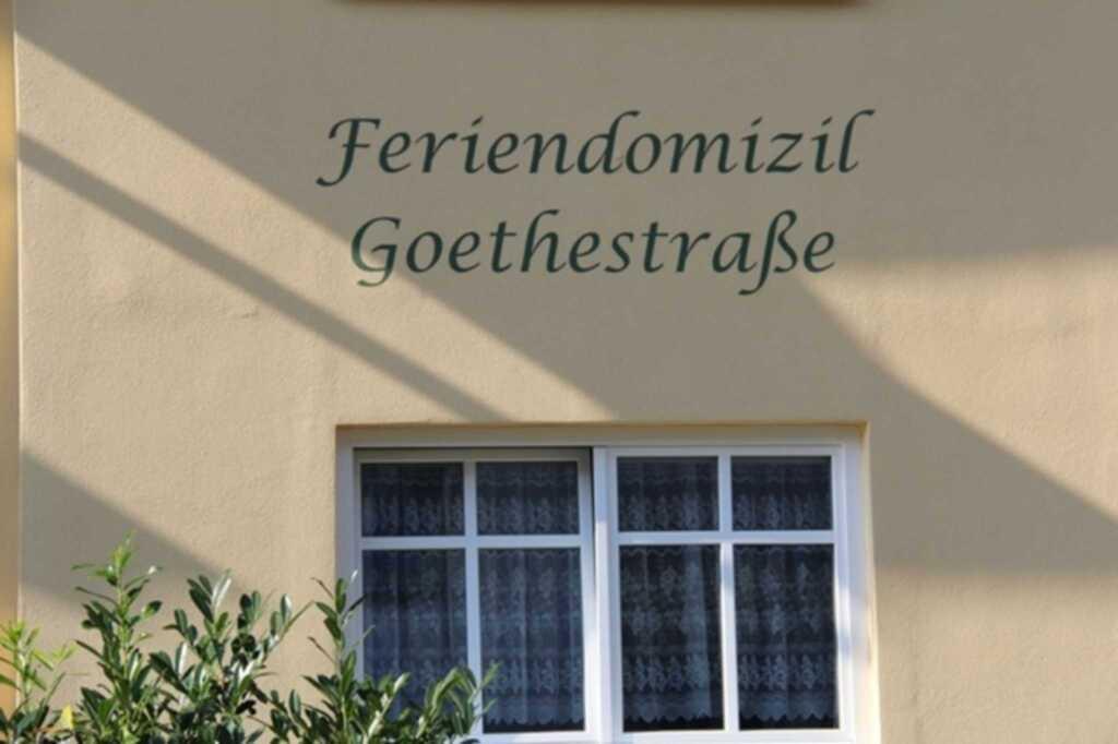 Feriendomizil Goethestraße, Wohnung Bernstein (Whg