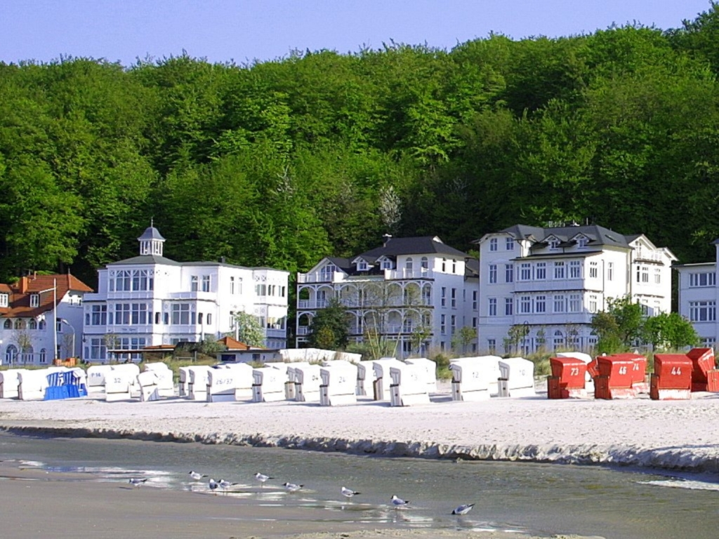 Villa Strandeck (Strandpromenade Binz), B 06: 77m²