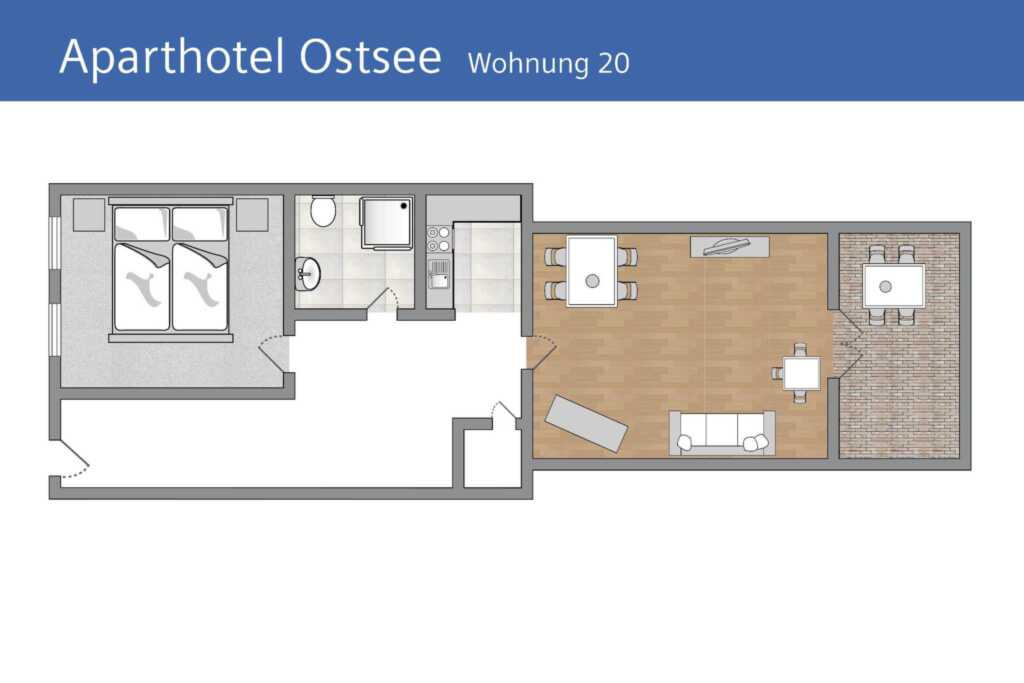 Aparthotel Ostsee (Strandpromenade Binz), G 20: 53