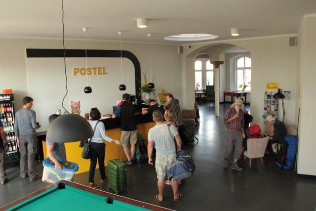 PostHostel Wolgast, Einzelbett in Backpackzimmer (