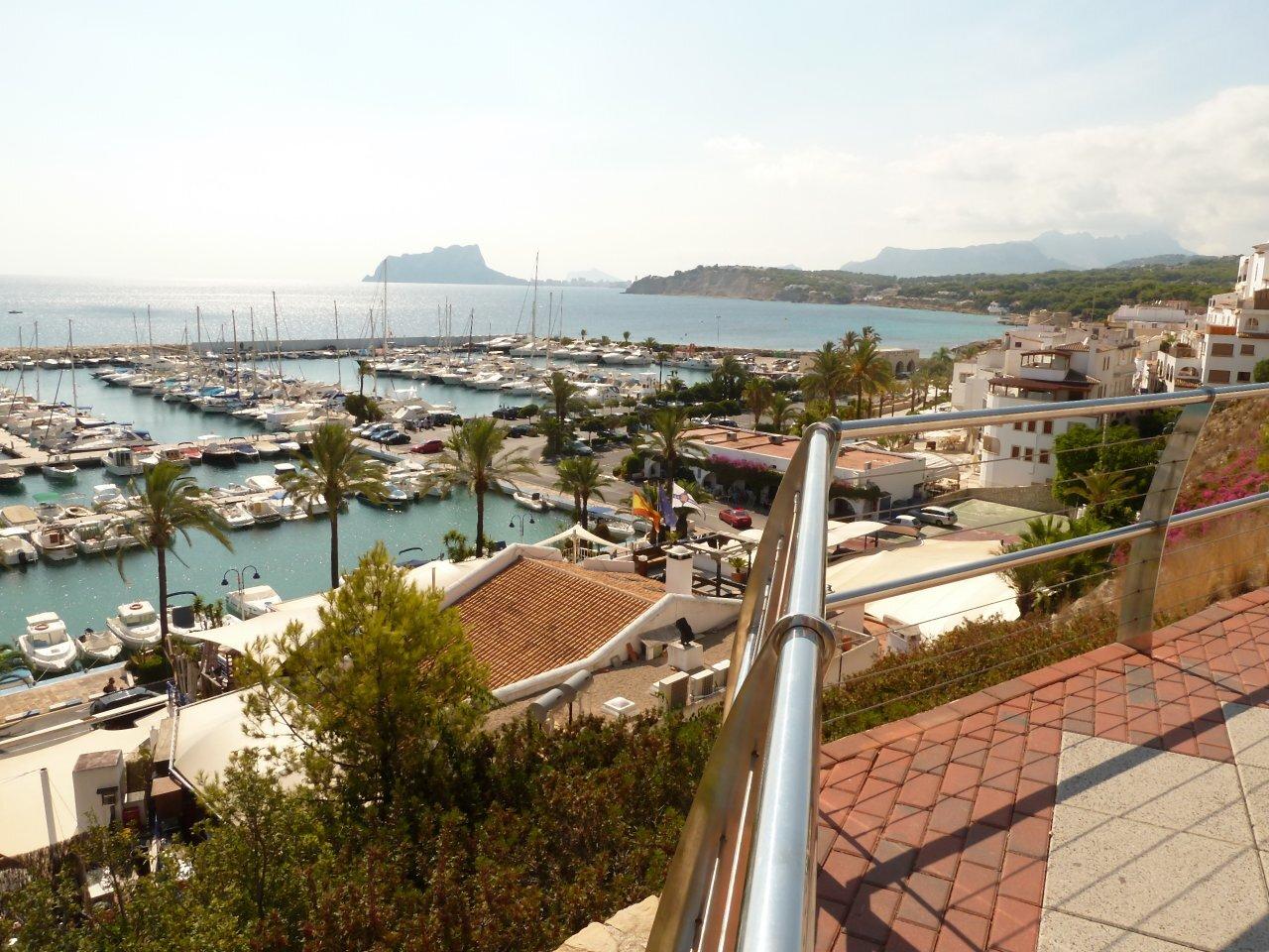 Strand Moraira... kleiner Teil