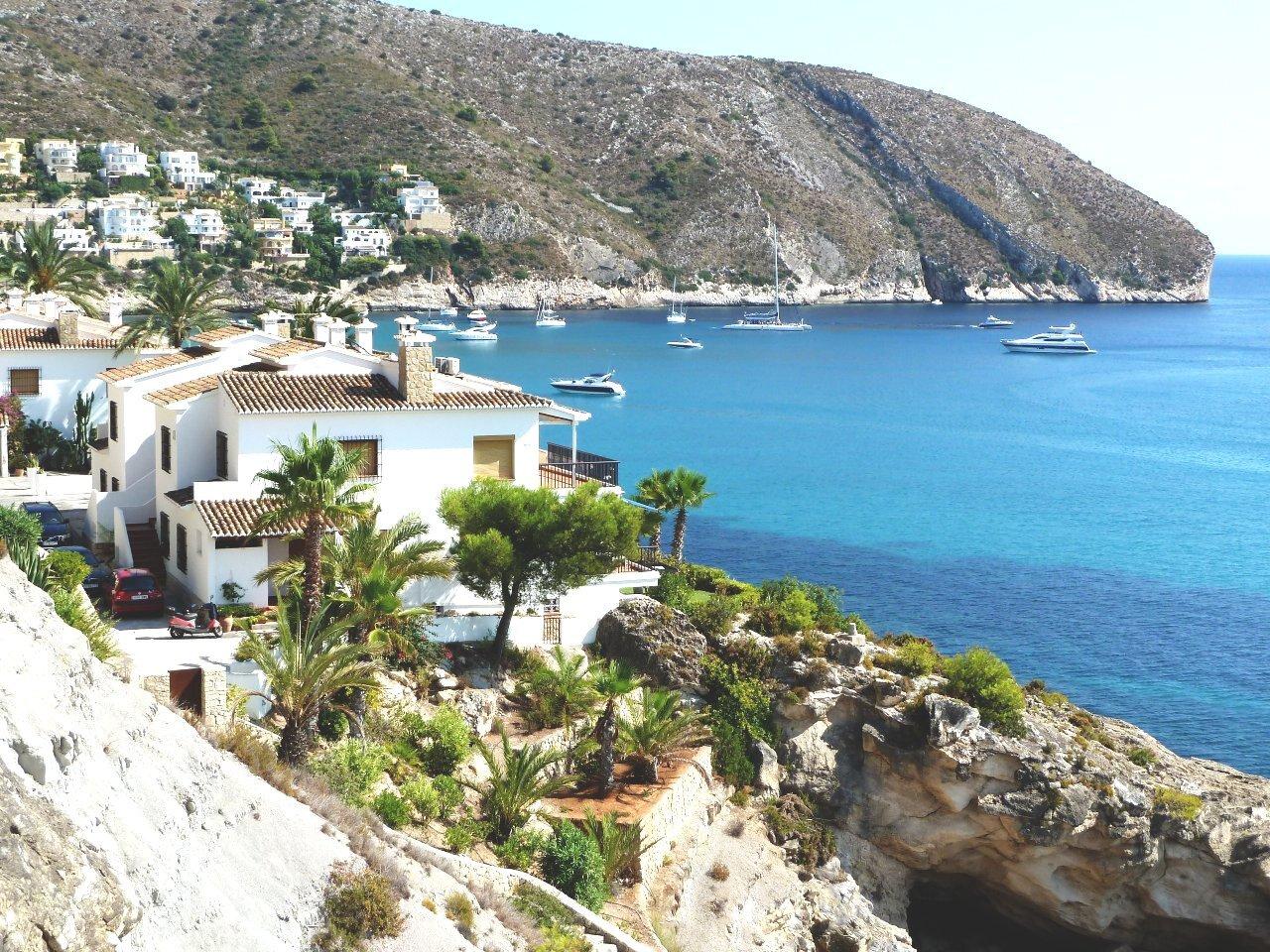 Palmenpark vor dem Strand