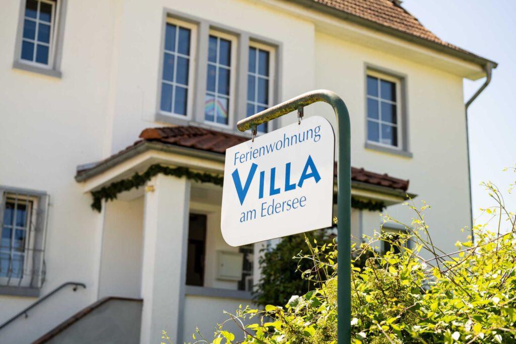 Villa am Edersee, Ferienwohnung Villa am Edersee