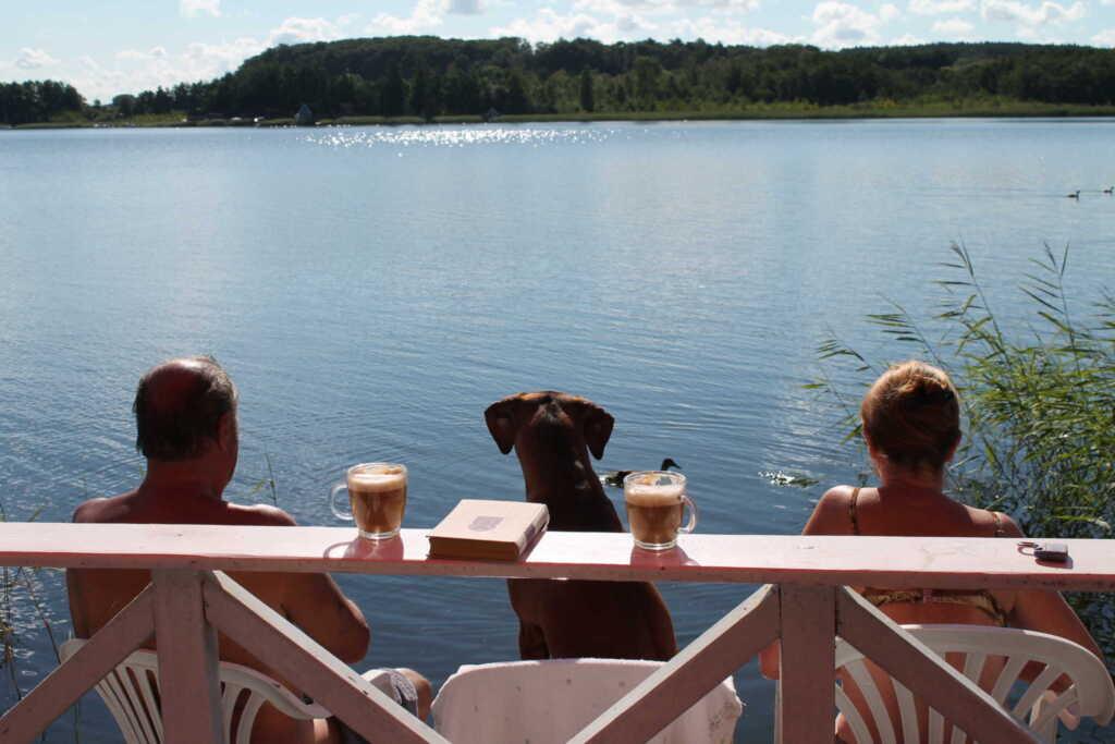 Ferienhaus am See, Ferienhaus