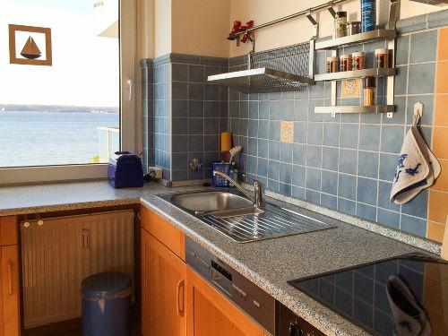 Küche mit Seeblick