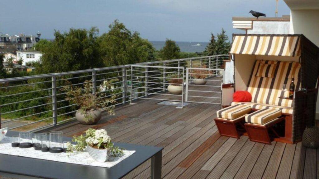 Villa Sanddorn WE 15 Penthouse Wohnung, 3-Zimmer-W