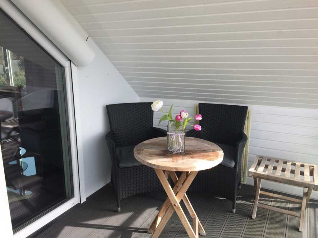Haus Antje, 3-Raum FeWo, 75 m², 1. Stock, Loggia