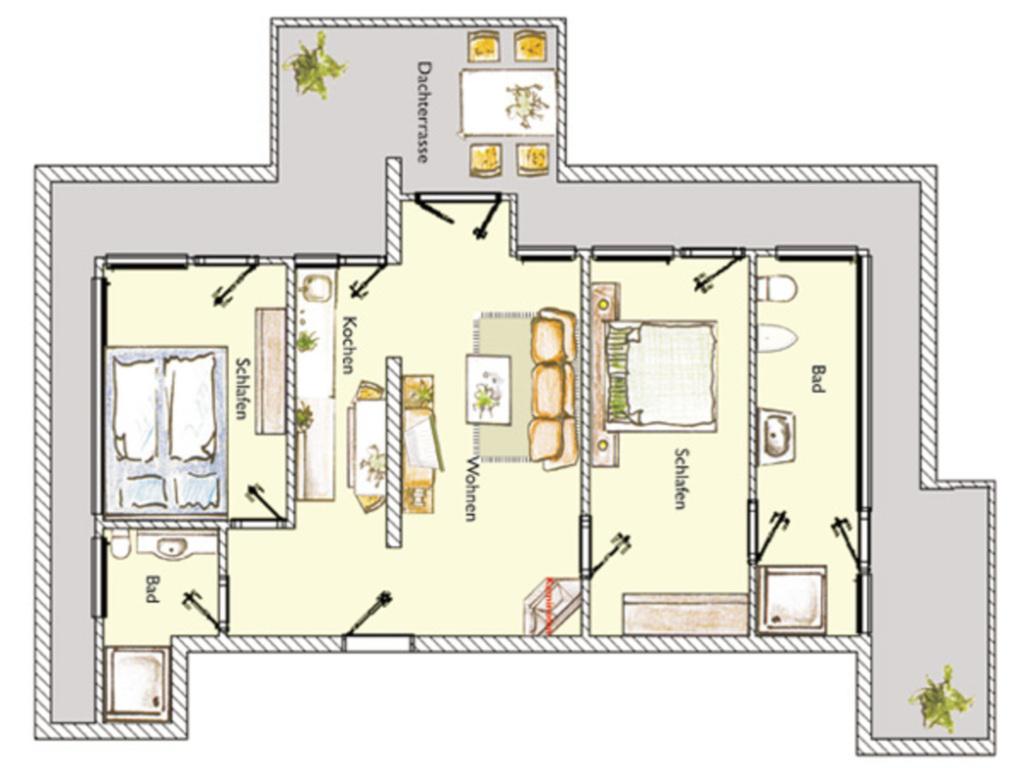 (Brise) Villa Marlen, Marlen 9 3-Zi