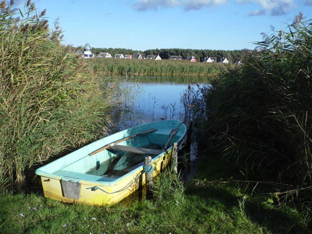 Gemütliche FeWo mit Ruderboot - 50m zum Wasser, Fe