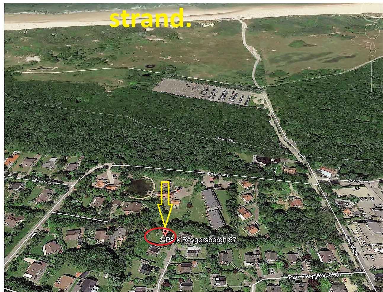 Luftfoto von der Lage.