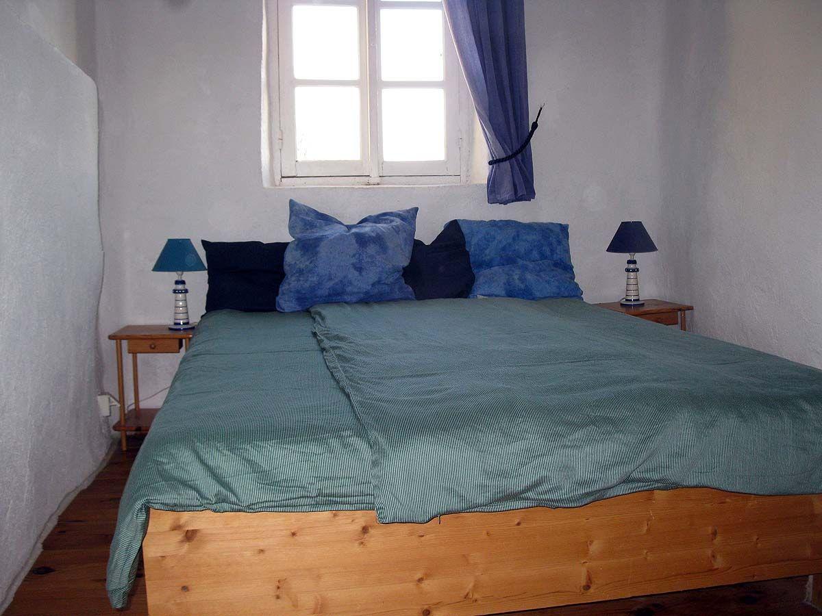 Das Schlafzimmer in der oberen Etage