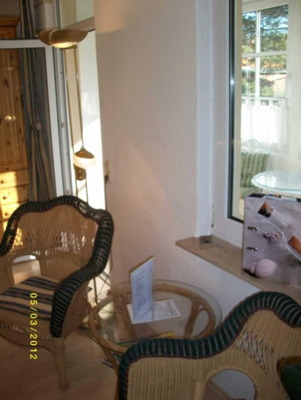 Pension 'Villa Erika', Doppelzimmer mit Wintergart
