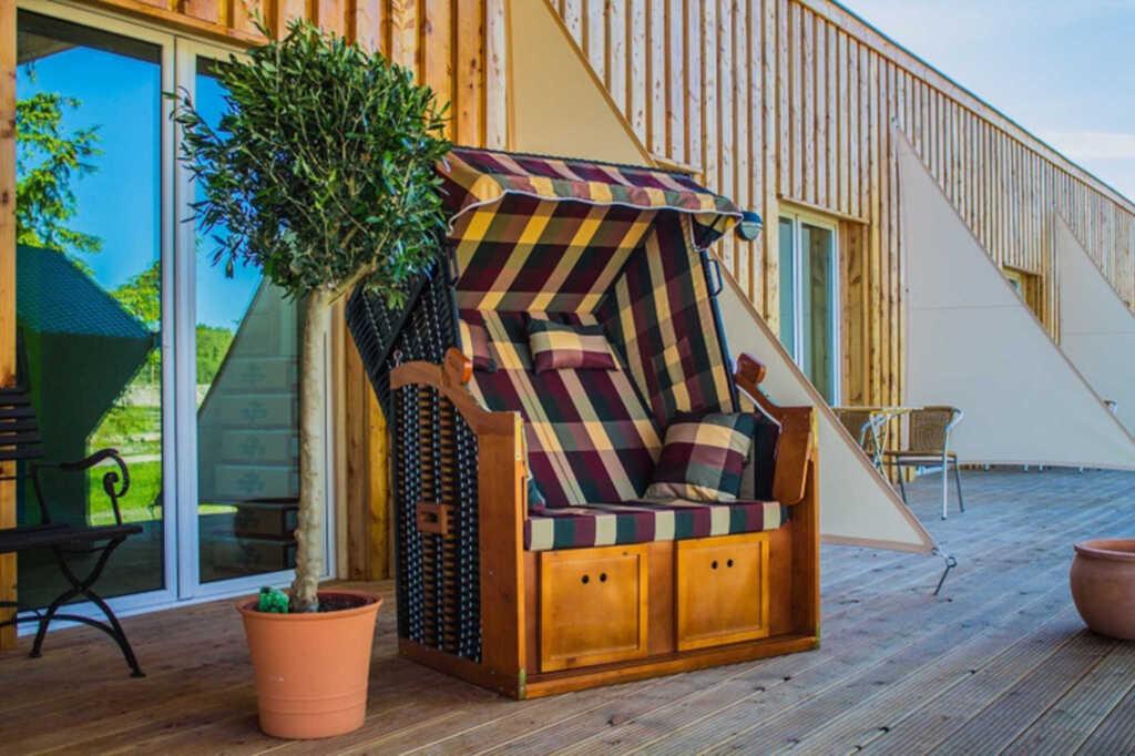 Halbinsel Apartmenthotel, Zimmer 16 Hafenseite Typ