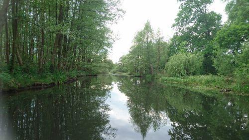 überall Flüsse, Kanäle und Seen