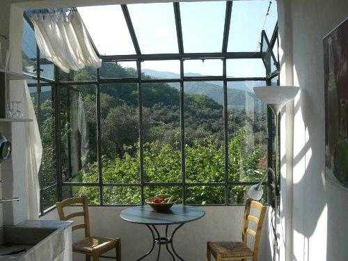 Panoramablick von der Küche