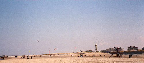Der endlose Strand von Warnemünde