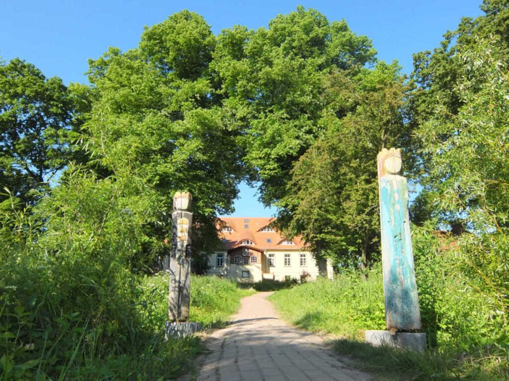 Urlaub auf dem Biohof, Ferienwohnung blau