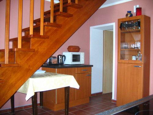Küche mit Treppenaufgang 1, OG