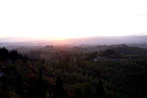 Abendstimmung in Pascianella
