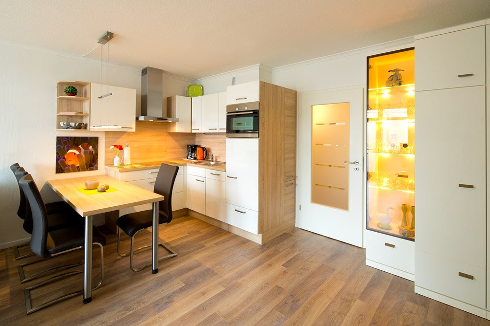 Küche mit allem Drum und Dran