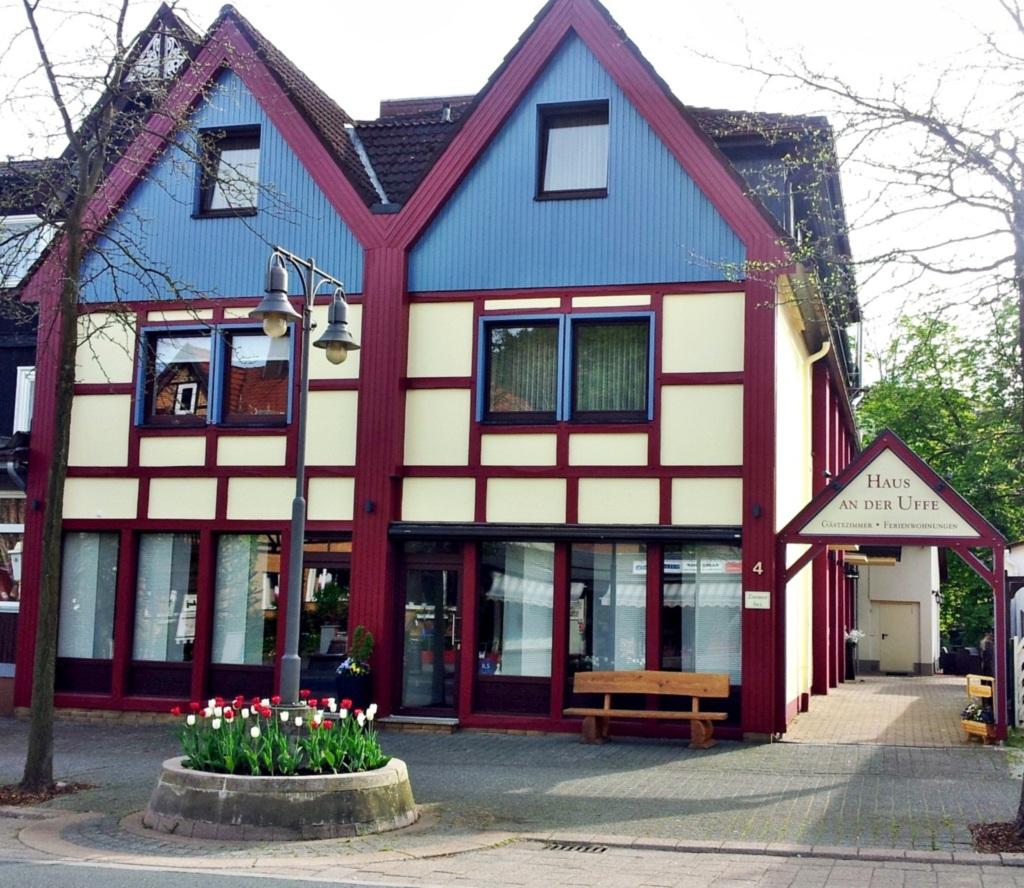 Haus an der Uffe, Appartement mit Balkon (A4)