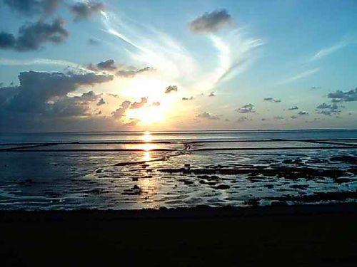 Das Wattenmeer am Abend