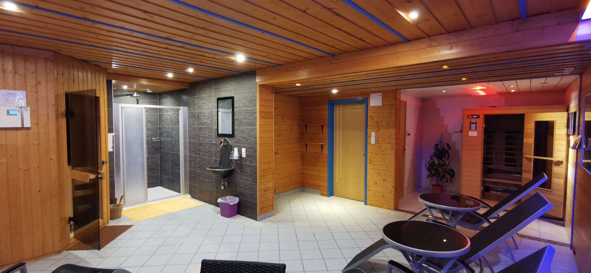 Gratis: Sauna-Wellnessbereich im Haus