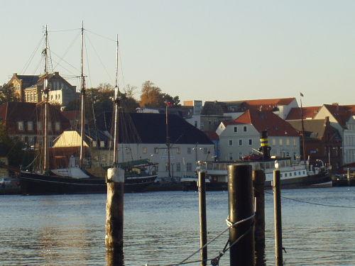 Der Flensburger Hafen