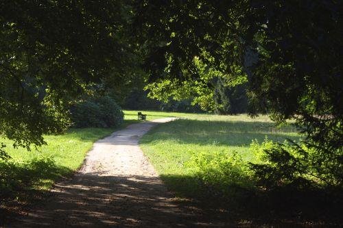 Landschaftspark von Schloss Wiesenburg