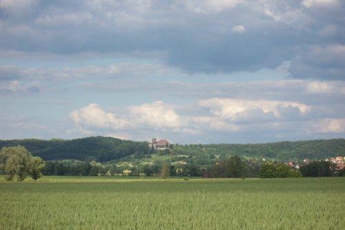 Blick auf Schloß Colmberg
