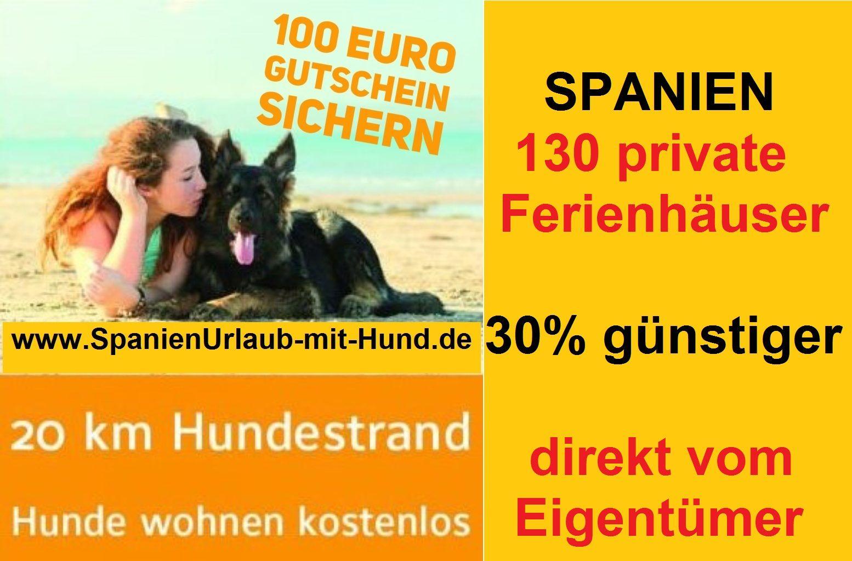Spanienurlaub mit Hund direkt am Meer
